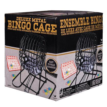 Cardinal - Cage à Bingo en métal
