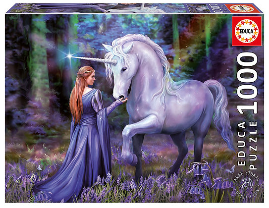 Casse-tête 1000 pièces - Bluebell Woods, Anne Stokes