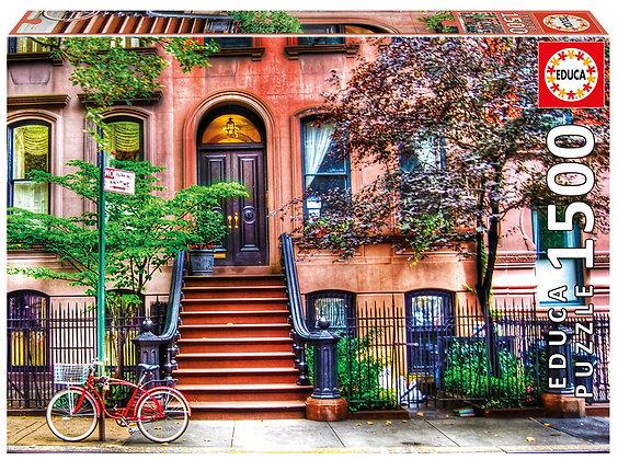 Casse-tête 1500 pièces - Greenwich Village, New York
