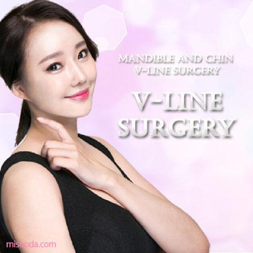 Mandible And Chin V-Line Surgery