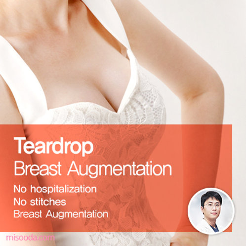 Teardrop Breast Augmentation