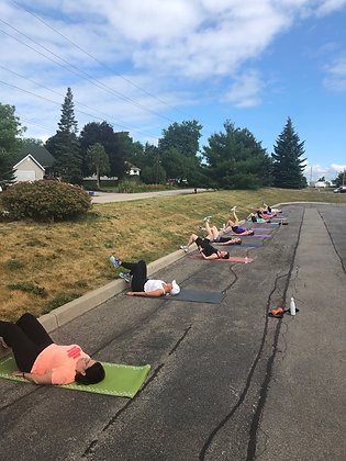 September Powerful outdoor training sessions