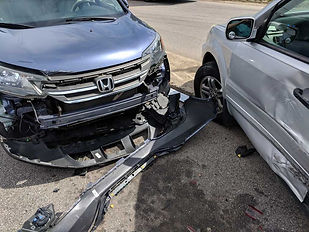 Honda front end badly damaged.jpg