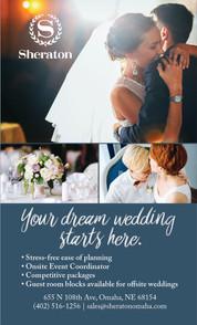 Sheraton of Omaha Wedding Ad