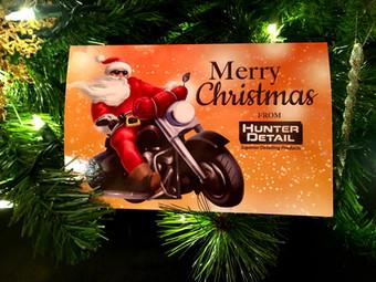 Hunter Detail Christmas Cards