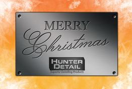 Hunter Detail Christmas Card