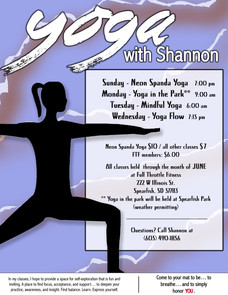 Roots Yoga Poster