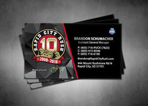 Rapid City Rush Business Card