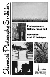 Advanced Photography Exhibition Poster