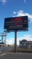 Rapid City Rush Digital Billboard
