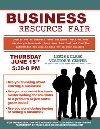 Business Resource Fair Flyer