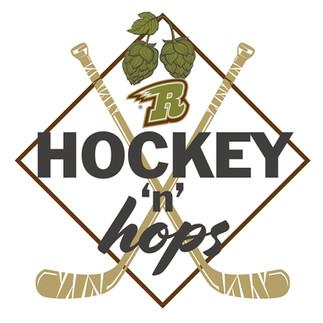 Hockey 'n' Hops Logo