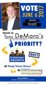Tony Demaro for City Council