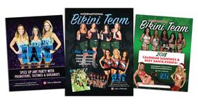 International Bikini Team Flyers