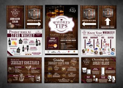 Whiskey Tips Branded Event