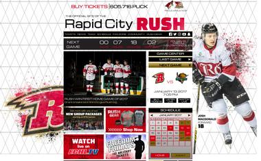 Rapid City Rush Website