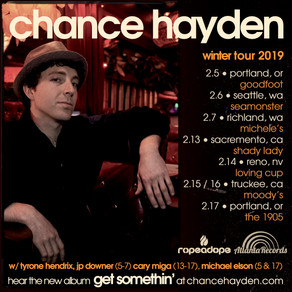 Winter Tour 2019
