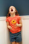 child having a meltdown