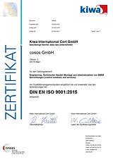 cosos 9001 QM Qualitätsmanagement