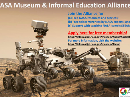 Join the NASA Museum and Informal Education Alliance