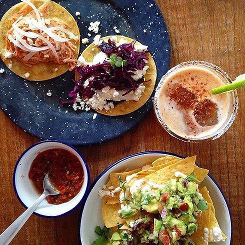 Tacos paris margarita
