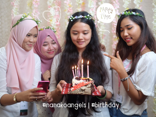NANAKOANGEL SUCI'S BIRTHDAY