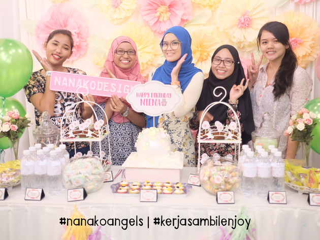 NANAKODESIGN : NIENA AZMAN'S SURPRISE BDAY PARTY
