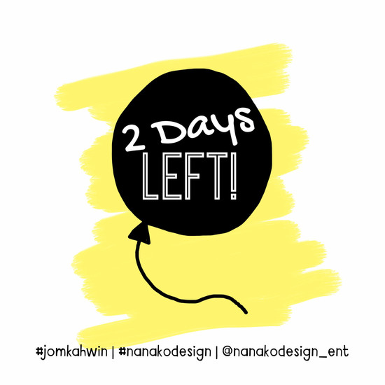 COUNTING : 2 DAYS LEFT!