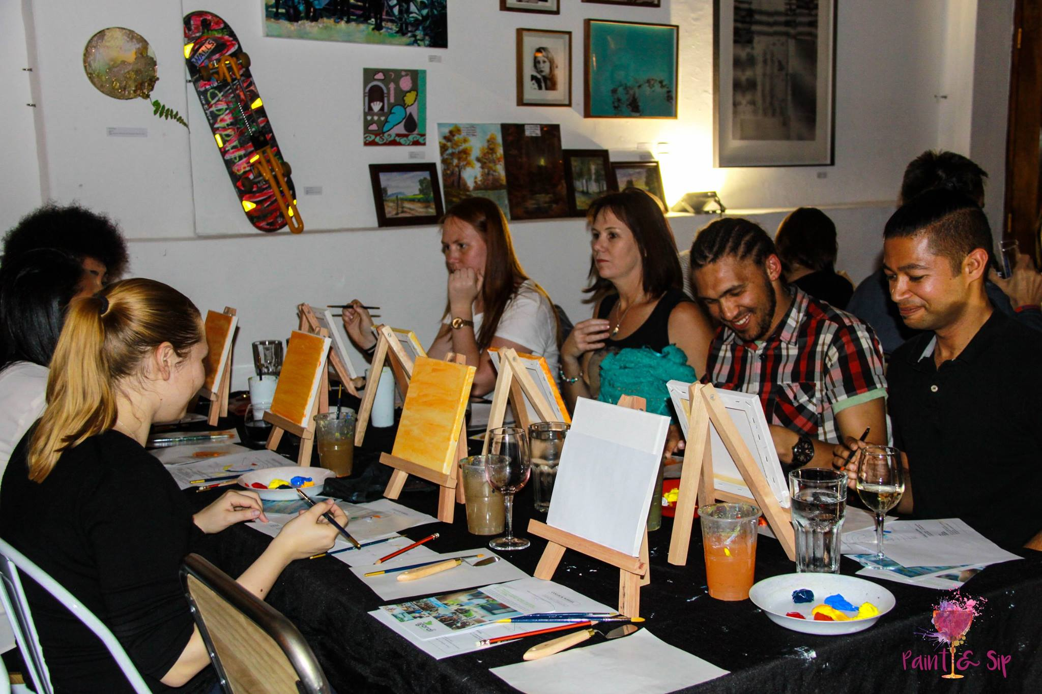 Paint and Sip for a great cause