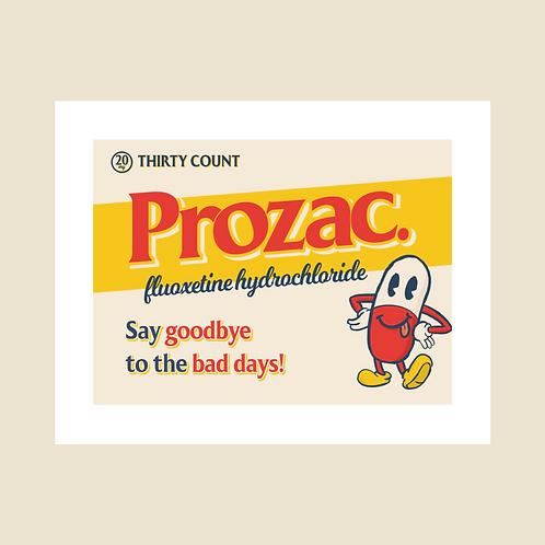 """Prozac"" Digital Painting Download File"