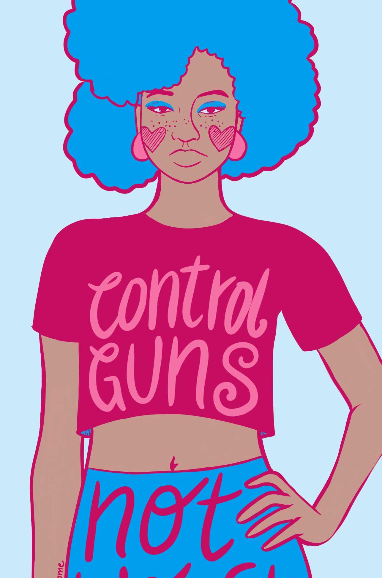 T-shirt for Woke brown Feminist.