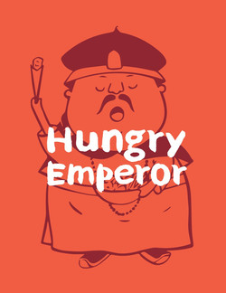 Hungry Emperor Branding