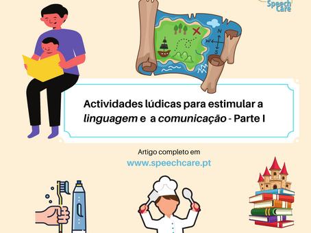 Actividades lúdicas para estimular linguagem e comunicação - Parte I
