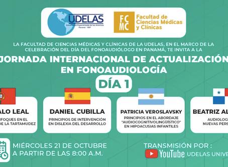Gonçalo Leal aborda a prática clínica em gaguez na Universidade do Panamá: hoje, 21 Outubro, 14:30