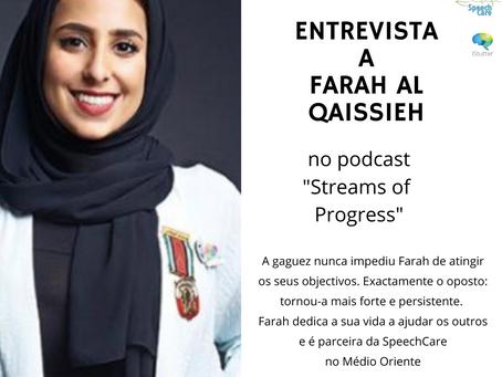 Entrevista a Farah Al Qaissieh, parceira da SpeechCare no Médio Oriente