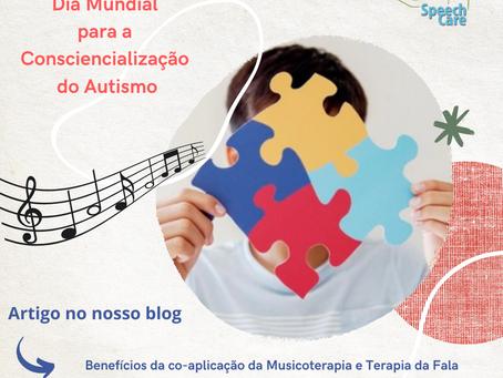 Benefícios da Terapia da Fala com Musicoterapia nas crianças com perturbação do espectro do autismo