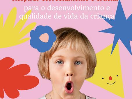 A importância da respiração  no desenvolvimento das crianças e a intervenção do Terapeuta da Fala