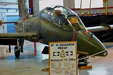 The Aviator Experience, rnzaf 14 squadron aermacchi jet