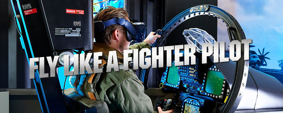 fly like a fighter pilot background with