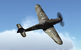 MESSERSCHMITT BF 109, The Aviator Experience, ww2 warbird, plane, flight simulator aircraft