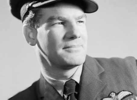 Alan Deere - our own ace fighter pilot.