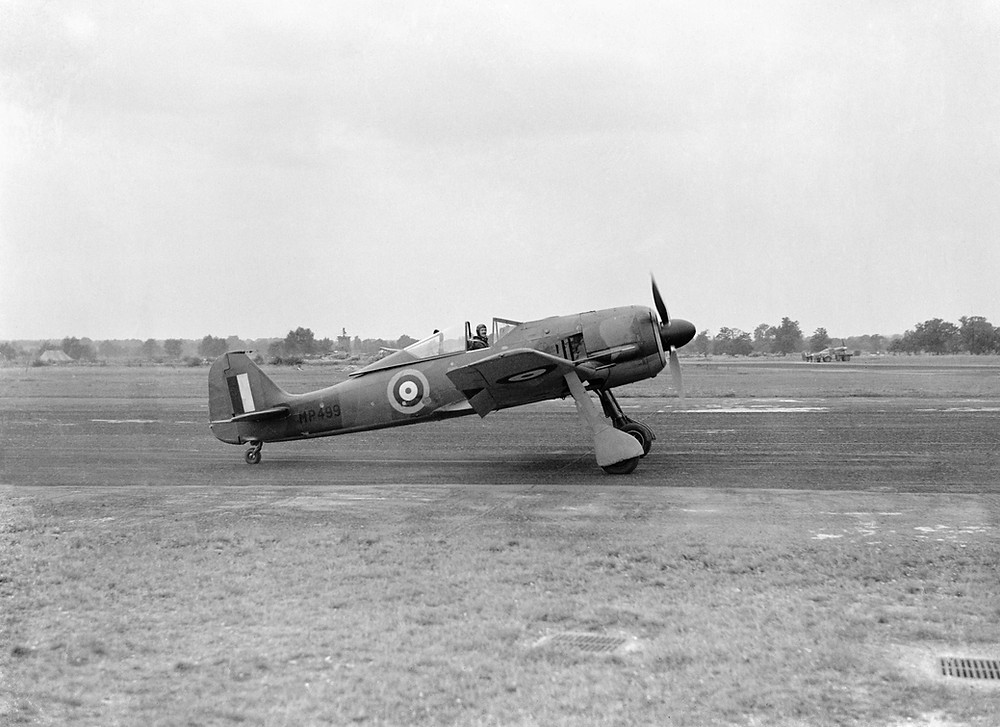Captured Fw-190