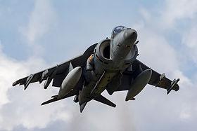 AV-8B HARRIER jump jet aircraft
