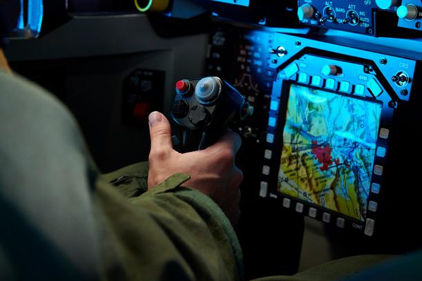 F 18 Cockpit detail