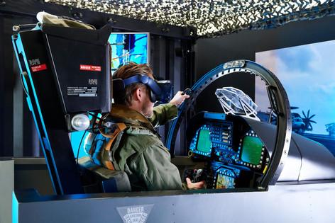 F-18 Motion Cockpit