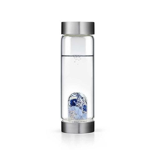 Balance Water Crystal Bottle - SODALITE • CHALCEDONY • CLEAR QUARTZ