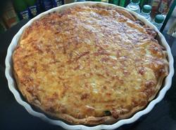 Cheese & tomato pie