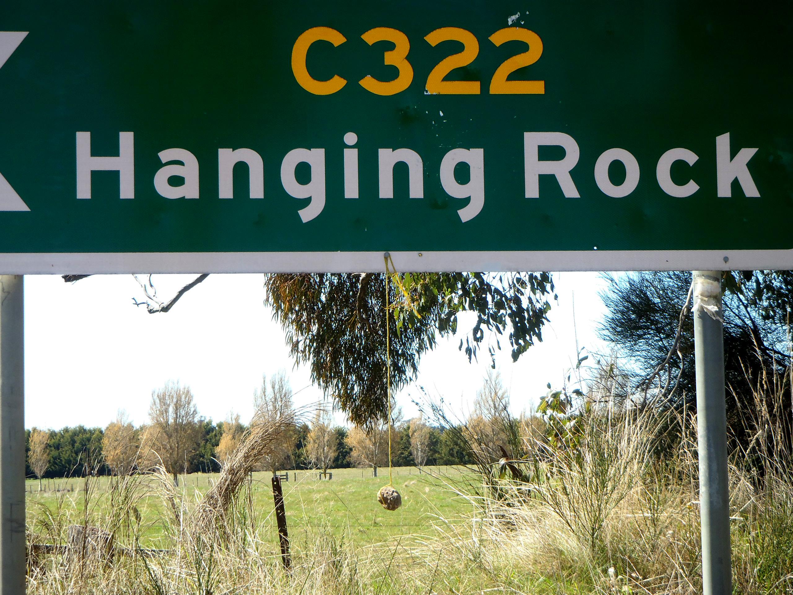 Hanging Rock Road Sign