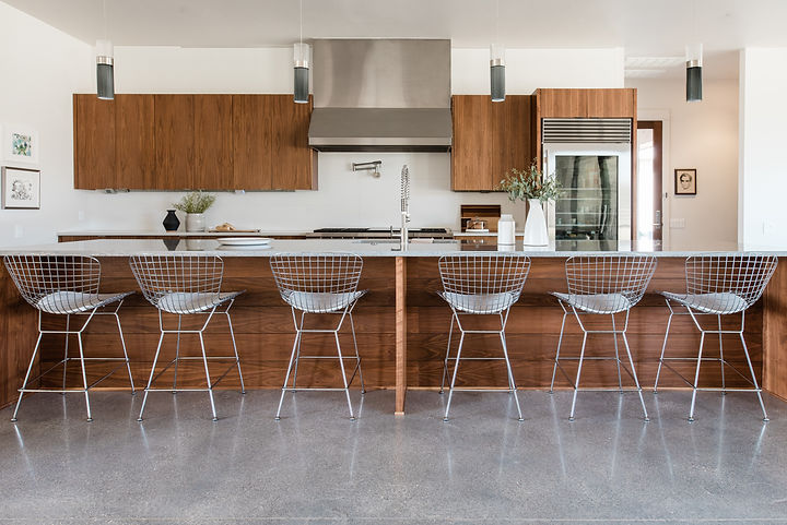 This modern home in the hills was designed by The Hills Design Co and shot by Madeline Harper Photography