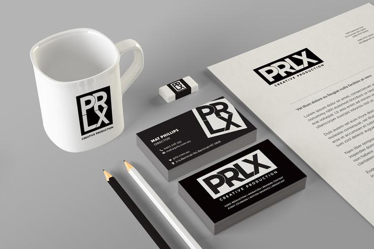 PRLX Branding